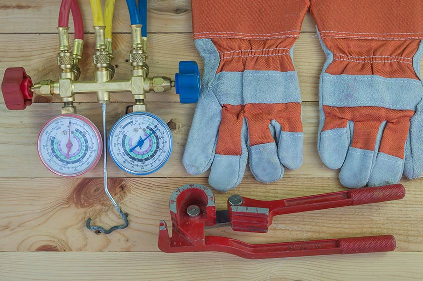 hvac supplies for workers