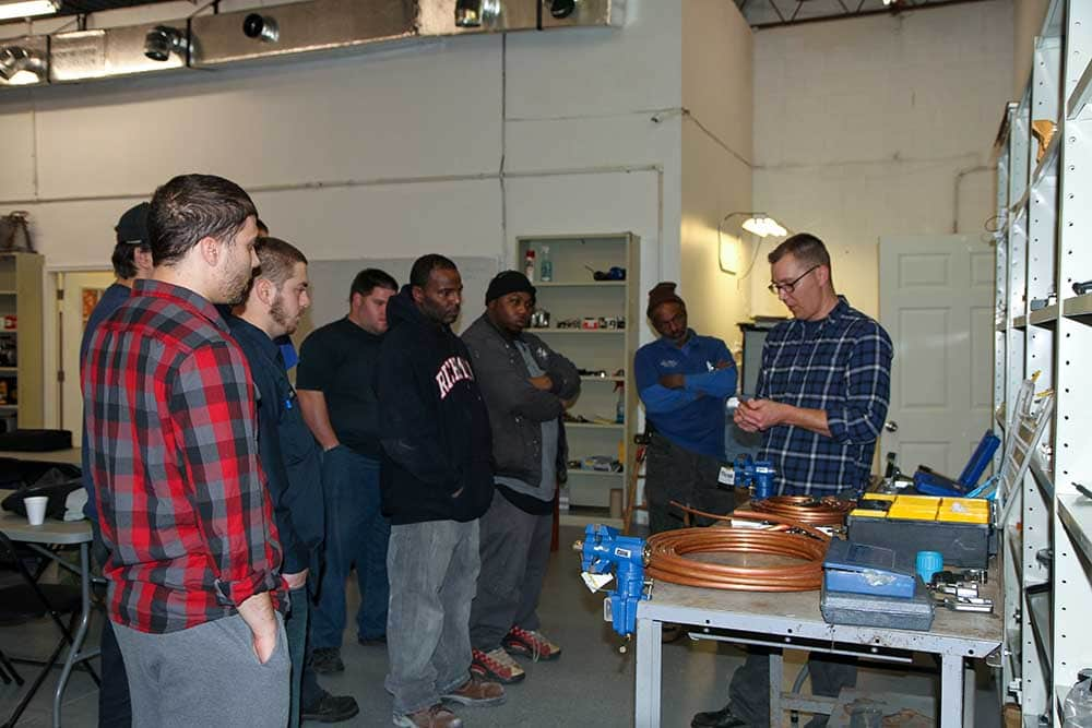 students learning at virginia technical academy